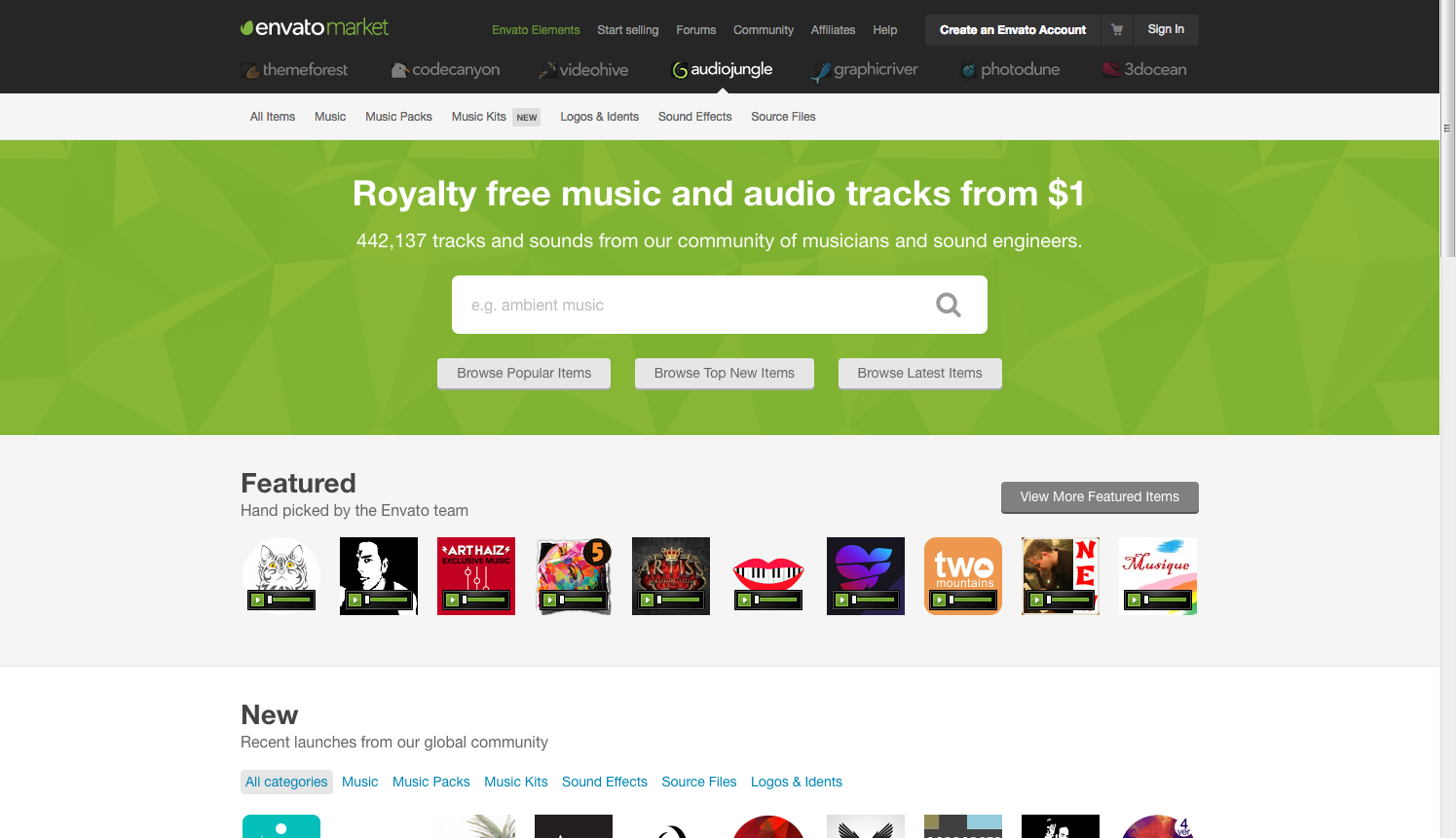 Top 10 Sites for Buying Music, Audio and Voiceover Files