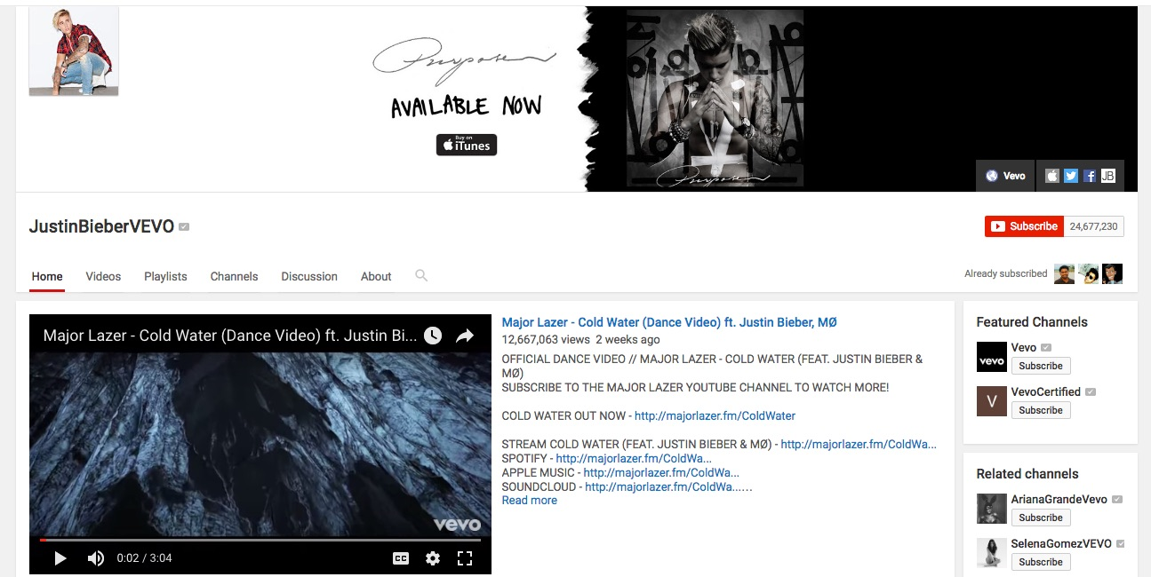 justinbiebervevo-youtube