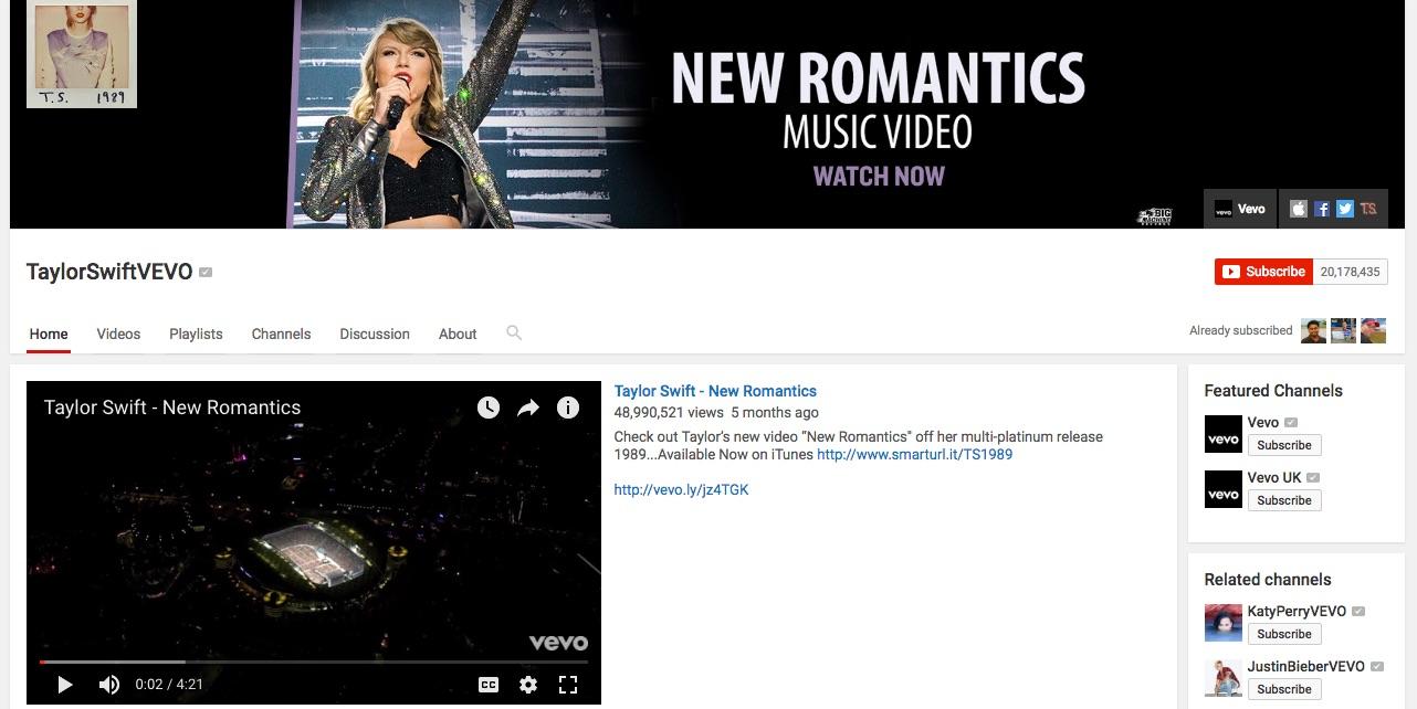 taylorswiftvevo-youtube