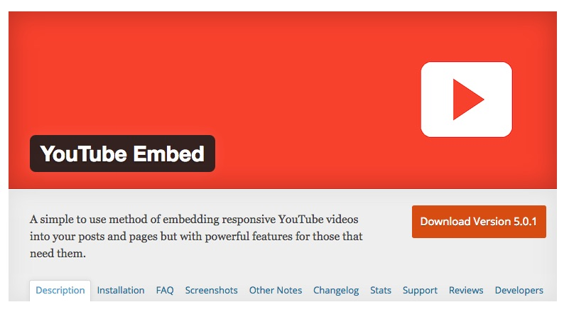 youtube_embed_-_wordpress_plugins