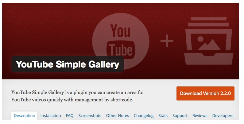 youtube-simple-gallery-wordpress-plugins