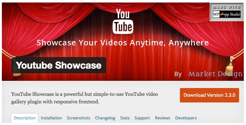 youtube-showcase-wordpress-plugins
