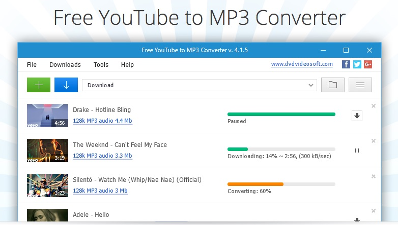 Downloading YouTube Music Videos as MP3 Files